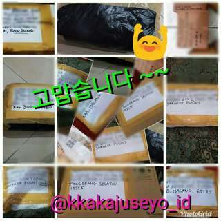 Thank you for shopping at @kkakajuseyo_id