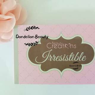 Beauty Creations Eyeshadow - Irresistible