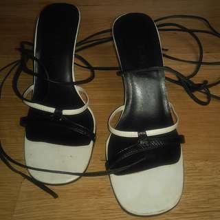 Janylin Tie-around Wedge Sandals