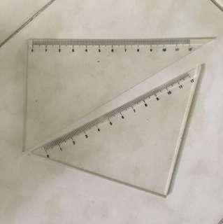 Protractors/Sets Square