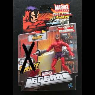 Marvel Legends Klaw Action Figure