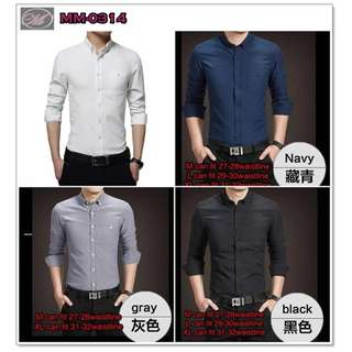 CODE: MM-0314 Long Sleeve Polo