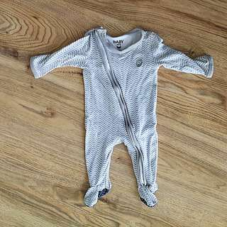 Cotton On Baby Sleepsuit 0-3