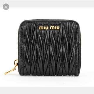 Miu Miu Short Wallet