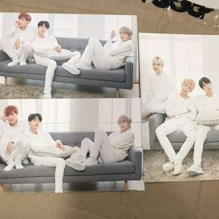 BTS x Mediheal Postcards Unit
