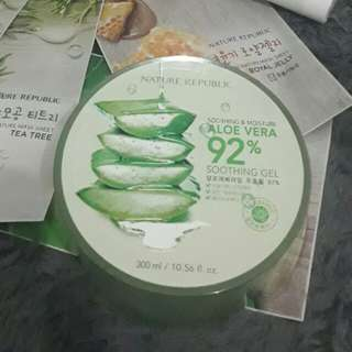 Aloe Vera Soothing Gel by Nature Republic