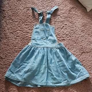 Denim Romper dress