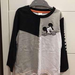 Disney Mickey long sleeve t-shirt (3-4yrs old)
