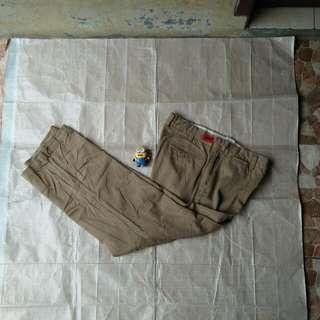Celana panjang chino pants schott bukan uniqlo levis