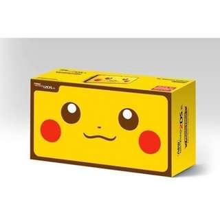 New 2DS XL Pikachu Ed