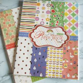 Gift wrap book / wrapping paper