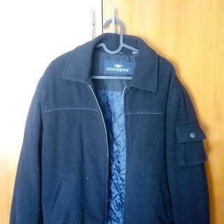 Jacket Tebal Winter Coat Wool Dockers