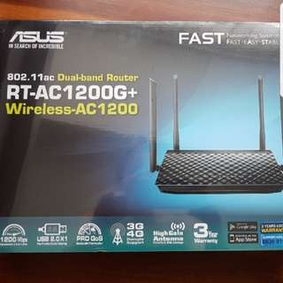 Router Asus Dual-band Wireless AC 1200 Gigabit