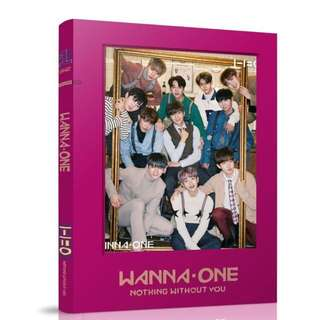 WANNA ONE UNOFFICIAL PHOTOBOOK