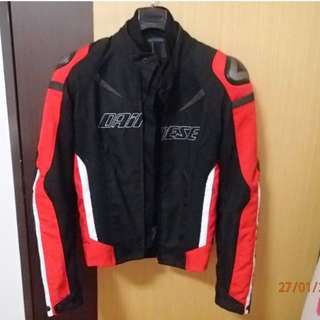 Brand New Dainese Super Speed D-Dry jacket black-red