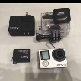 GoPro Hero 4 and it's accessories