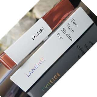 Laneige Two Tone Shadow (No. 2 Golden Rose) (Brand New)