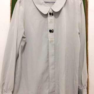 Grey Bow Shirt