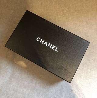 Chanel Shoe Box 鞋盒連鞋袋、chanel紙、絲帶