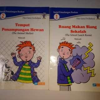 Buku Cerita Anak Dwibahasa Indo & English