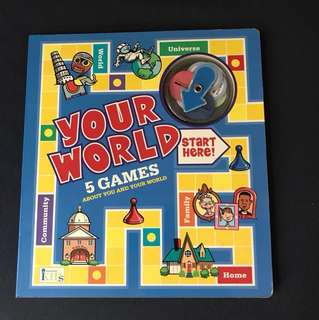 Your world game book