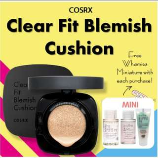 (20% Offer!) Cosrx Clear Fit Blemish Cushion Natural Foundation Skin Treatment