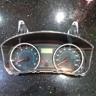 Used Toyota Wish 20 series 2009 ~ S spec Meter