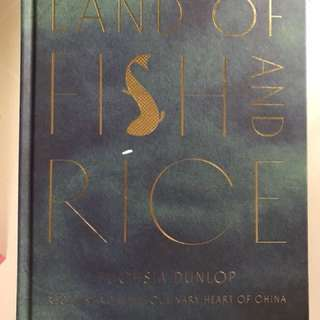 Land of Fish and Rice cook book