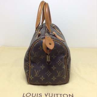 AUTHENTIC LV SPEEY MONOGRAM 25