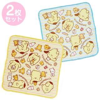 Japan Sanrio Pompompurin Kitchen Cloth 2 Pieces Set
