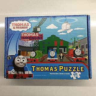 Preloved Thomas & friends 60 pieces jig saw puzzle