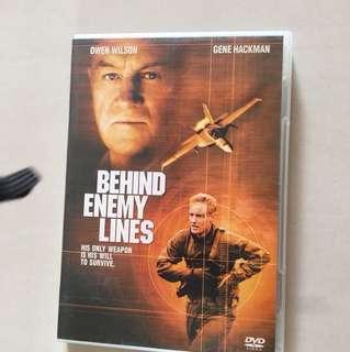 Behind enemy lines - original dvd