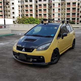 5 year COE, Mitsubishi Colt Plus 1.5 Auto Ralliart Turbo