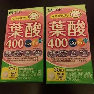 🚚 售完🇯🇵VK日本代購~ITOH葉酸120錠