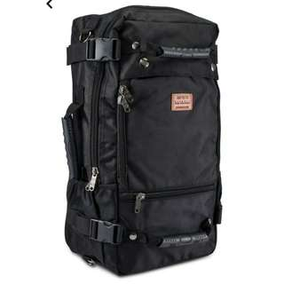 #STEALTH BLACK TRAVEL FOR BACKPACKERS