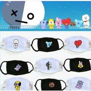 BTS  BT21 MASK