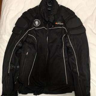 Air Bag Motorcycle Jacket (Size M)