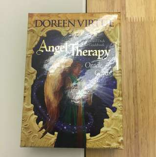 Angel therapy oracle card