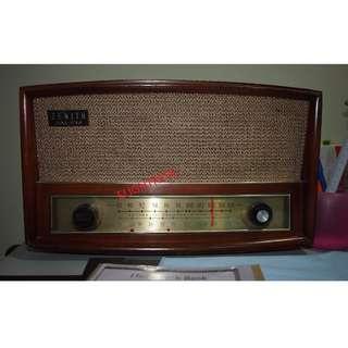 Valve radio FM/AM 1950s  in good working condition