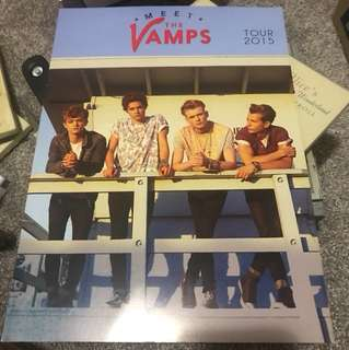 The Vamps 2015 Tour book