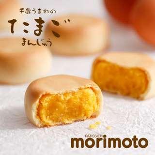 日本北海道 morimoto 千歲雞蛋饅頭。約219g,5個。