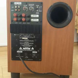 Wharfedale WH-210 subwoofer
