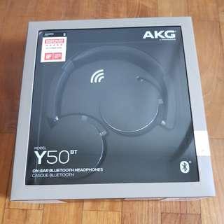 NEW AKG Y50BT HEADPHONES