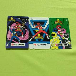 Power Rangers Card