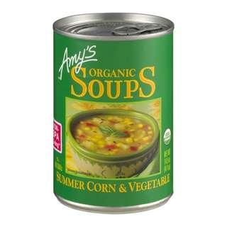 Amys 有機粟米蔬菜湯 411g