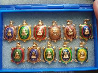 Thai amulet lp liew turtle