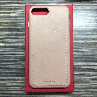 全新正版Casetify 真皮iPhone 8s+ Case