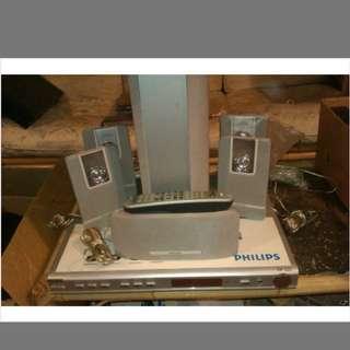 Philips amplifier sound system HTR5000 home cinema effect