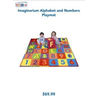 ToysRus Alphabet n No.s playmat & City Street playmat
