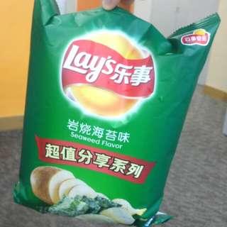 Lay's 樂事 紫菜味薯片 145g